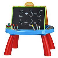 Обучающий стол My Art centre «Same Toy», цвет синий (8805Ut)