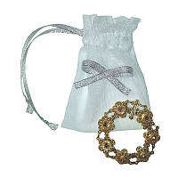 Мешочки свадебные с бантом (8х12 см.)
