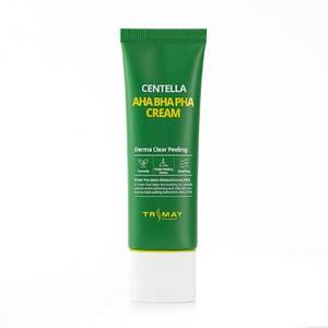 Крем с кислотами и центеллой TRIMAY Centella AHA BHA PHA Cream, 50 мл