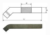 Резец проходной упорный изогнутый 25х16х140 Т5К10 (2103-0007)