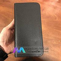 Мужской клатч-портмоне Baellerry Devis 802 Black черный кошелек для денег, телефона и документов