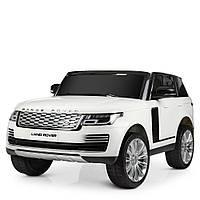 Детский двухместный электромобиль Land Rover M 4175EBLR-1 белый