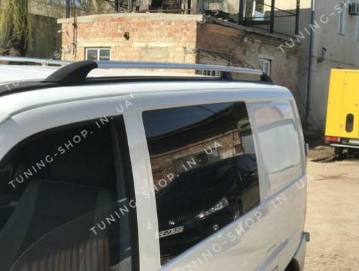 Рейлинги на крышу Mercedes Vito W638 1996-2003,серый металлик