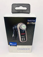Bluetooth FM-модулятор  MB-670 (Silver)
