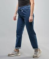"""Женские джинсы синие мом """"Cracpot"""", фото 1"""