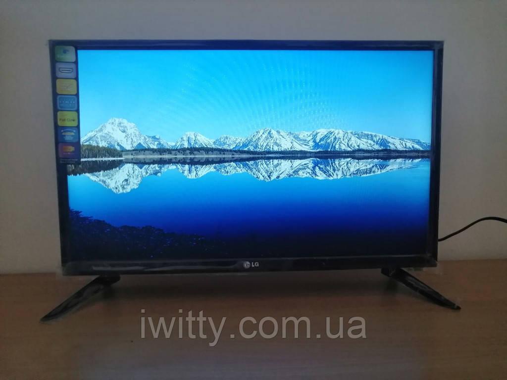 """LED телевизор LG 24"""" СМАРТ приставка в ПОДАРОК (FullHD/DVB-T2/USB)"""
