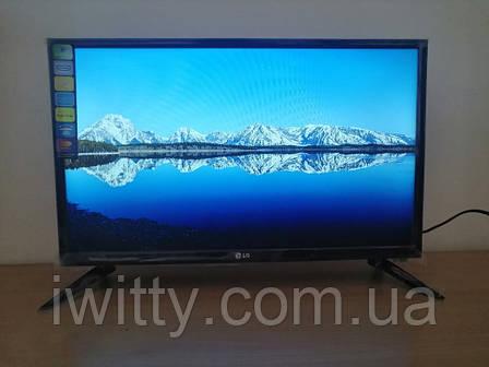 """LED телевизор LG 24"""" СМАРТ приставка в ПОДАРОК (FullHD/DVB-T2/USB), фото 2"""