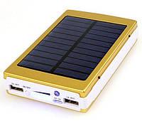 Power Bank SAMSUNG Gold (На солнечной батарее, LED светильник)