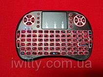 Міні-клавіатура з тачпадом RT-MWK08 (З підсвічуванням Red), фото 2