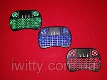 Міні-клавіатура з тачпадом RT-MWK08 (З підсвічуванням Red), фото 3