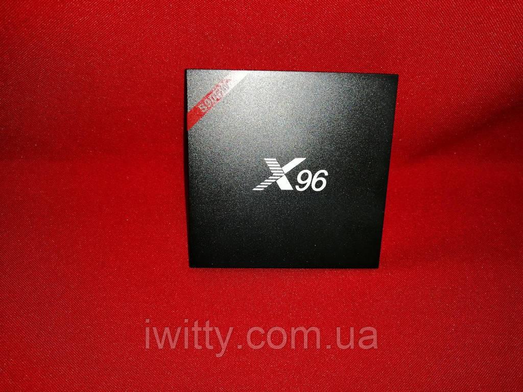 Смарт приставка X96  Версия с двухдиапазонным WiFi (2.4 + 5 GHz) + Bluetooth.