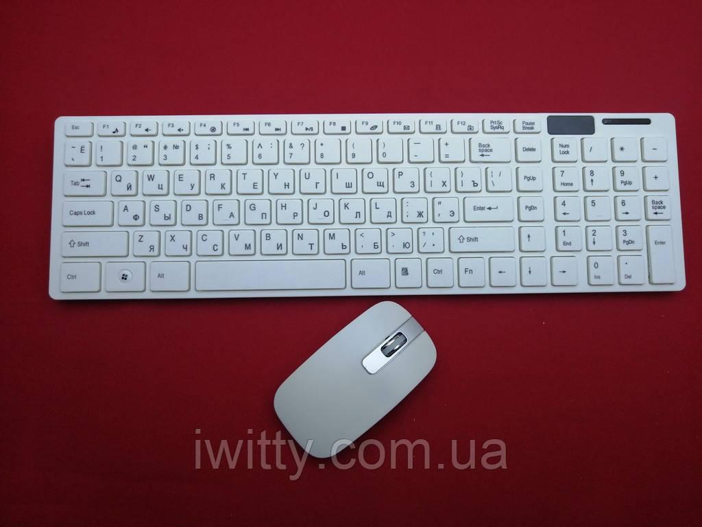 Беспроводная блютуз клавиатура K-06 + подарок