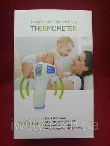 Инфракрасный термометр бесконтактный детский градусник, фото 2