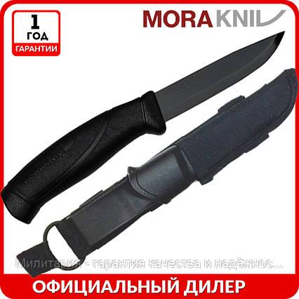 Нож Morakniv BlackBlade | туристический нож mora 12351 | мора  Companion Tactical | Made in Sweden, фото 2