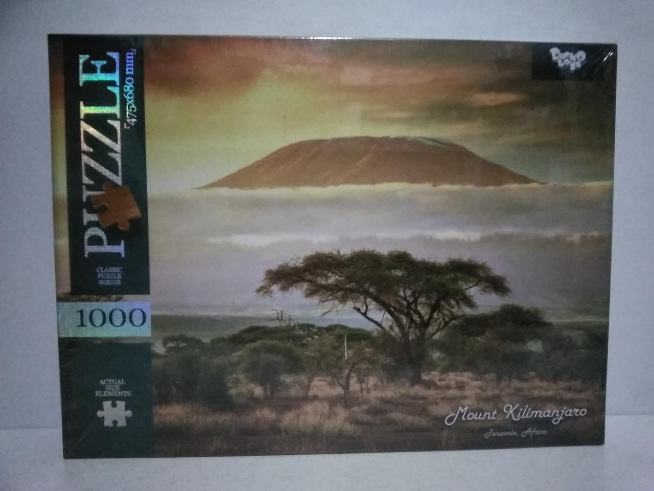 Пазлы 1000 элементов Африка.Развивающие пазлы.Логические пазлы.