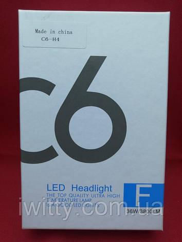 Комплект ксеноновых ламп для автомобиля  C6-H4, фото 2