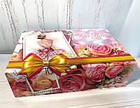 Коробка шкатулка праздничная, фото 1
