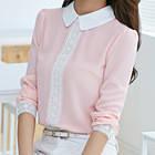 Ніжна блузочка в рожевому і білому кольорі, фото 1