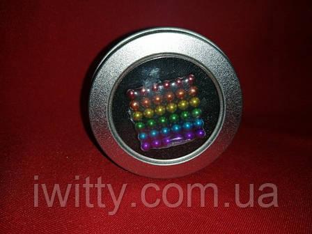 Неокуб Neocube 216 шариков 5мм в боксе (Разноцветный), фото 2