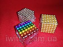 Неокуб Neocube 216 шариков 5мм в боксе (Разноцветный), фото 3