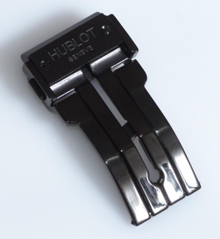 Клипса к ремешку HUBLOT 23 мм. Черного цвета