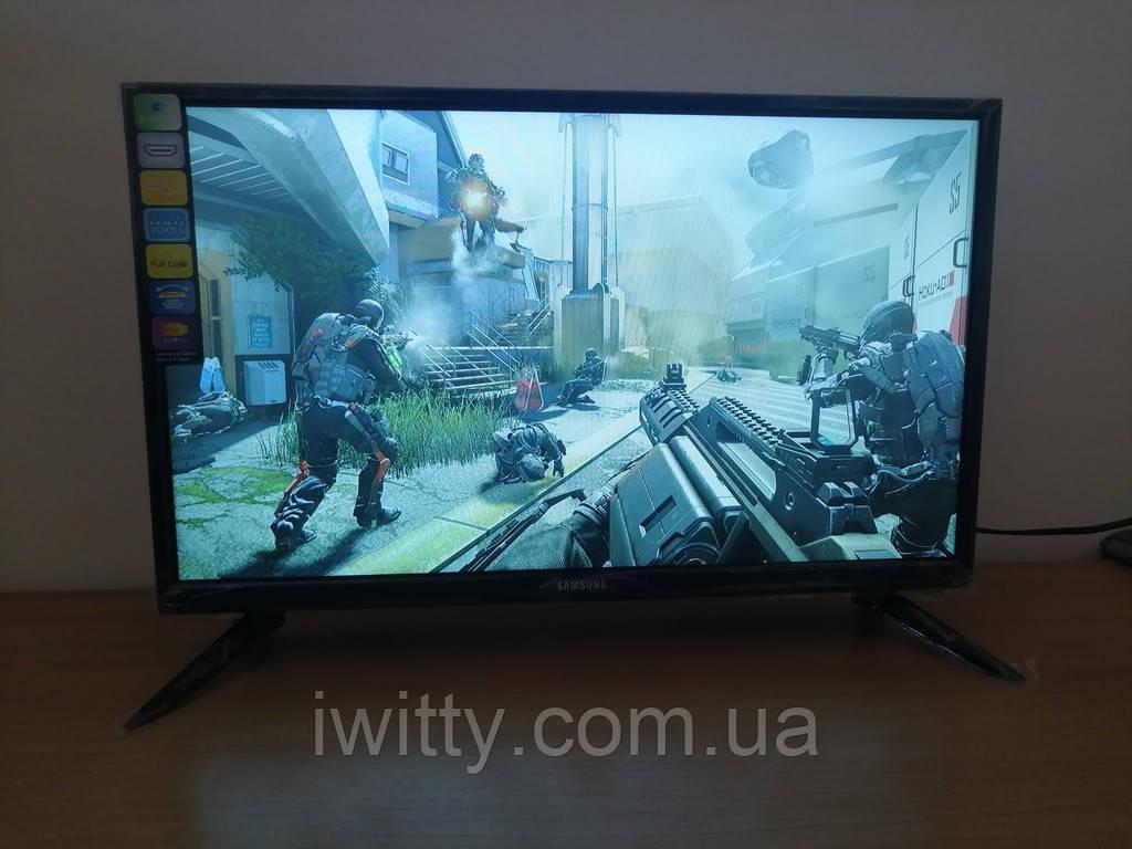 """LED телевизор Samsung 22"""" СМАРТ приставка в ПОДАРОК (FullHD/DVB-T2/USB)"""