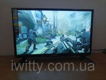 """LED телевизор Samsung 22"""" СМАРТ приставка в ПОДАРОК (FullHD/DVB-T2/USB), фото 2"""