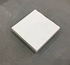 Коробка на 16-ть конфет, белая  185х185х30, фото 2