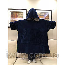 Толстовка-плед с капюшоном HUGGLE HOODIE, фото 2