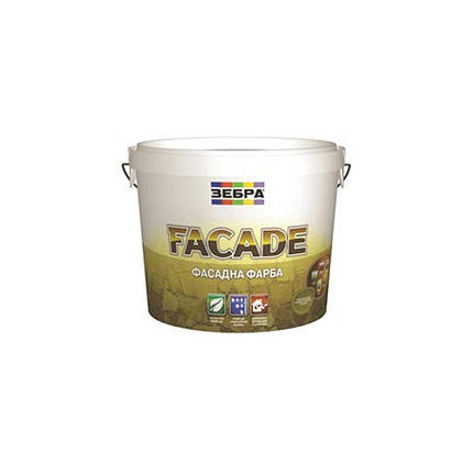 Фасадна фарба Зебра Facade (2,5 л), фото 2