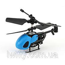 Летящий вертолёт на ручном управлении