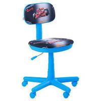 Кресло детское Свити голубой Машинки (AMF-ТМ)