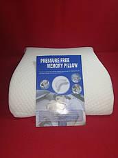 Ортопедическая подушка  с памятью Pressure Free Memori Pillow, фото 2