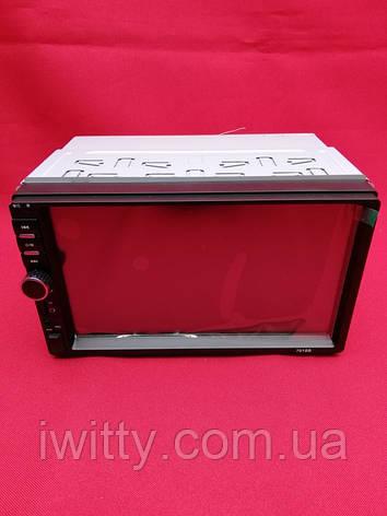 Автомагнитола 2Din 7018В + Пульт управления, фото 2