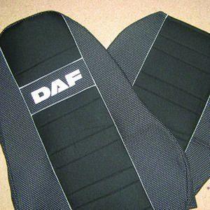 Чехлы на сиденья DAF  XF105  1+1  2005-2012       высокая спинка