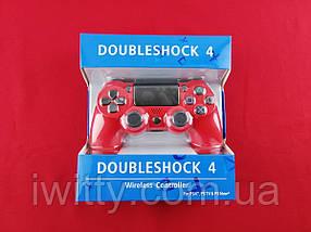Игровой Джойстик DualShock 4 (Red), фото 3