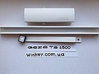 Доводчик дверной GEZE TS 1500 с скользящей шиной белый оригинал Германия