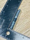 Винт-шуруп комбинированный 10х60 мм (шпилька сантехническая) шлиц Torx, белый цинк, фото 2