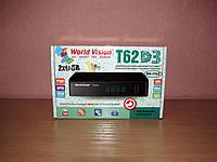 World Vision T62D3 цифровой эфирный ресивер DVB-T/Т2/C, фото 1