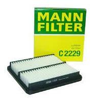 Фильтр воздушный Ланос. Сенс Mann C2229