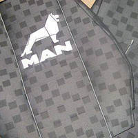 Чехлы на сиденья MAN TGA/TGM  1+1  2002-2007  высокая спинка