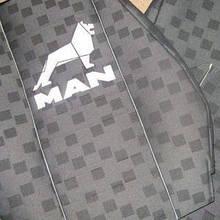 Чохли на сидіння MAN TGA/TGM 1+1 2002-2007 висока спинка