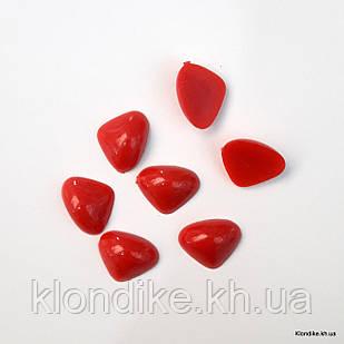 Носики для игрушек, высота: 13 мм, ширина: 16.5 мм, Цвет: Красный (10 шт.)