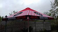 Великий зонт 4х4 метри для бару чи кафе,тросовий, квадратний, садовий, барний, торговий, вуличний, дачний