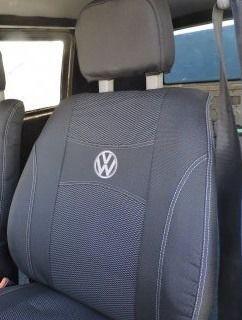 Чехлы на сиденья VOLKSWAGEN TRANSPORTER T5  1+1  2003г… 2подголовника;airbag