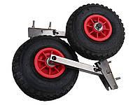 Транцевые колеса  (полуавтомат, нержавейка)