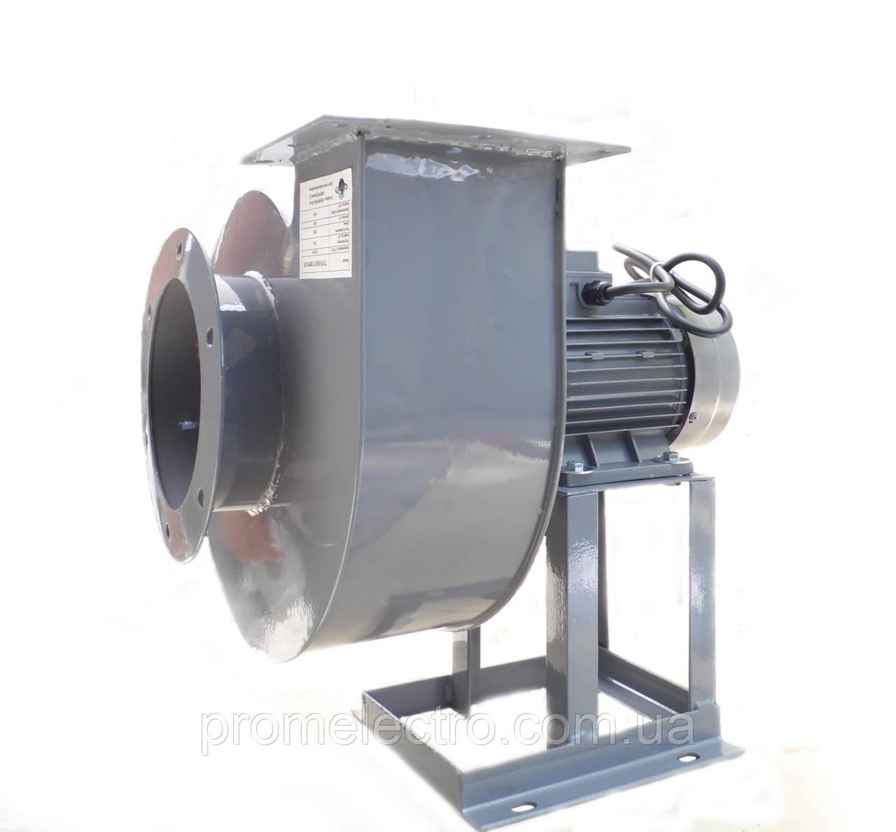 Пылевой радиальный высокотемпературный вентилятор Турбовент ПВР 1.1