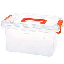 Пластиковый бокс - контейнер с ручкой,средний ( Судок для продуктов), фото 2
