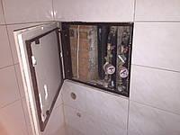 Нажимной люк под плитку в ванную 500х400 мм