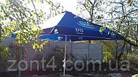 Тент на уличный зонт 4х4, торговый для кафе, фото 7